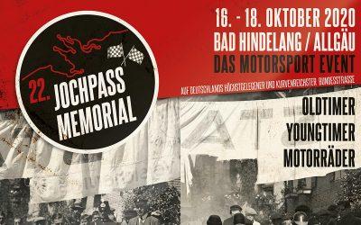 Jochpass Oldtimer Memorial 2020