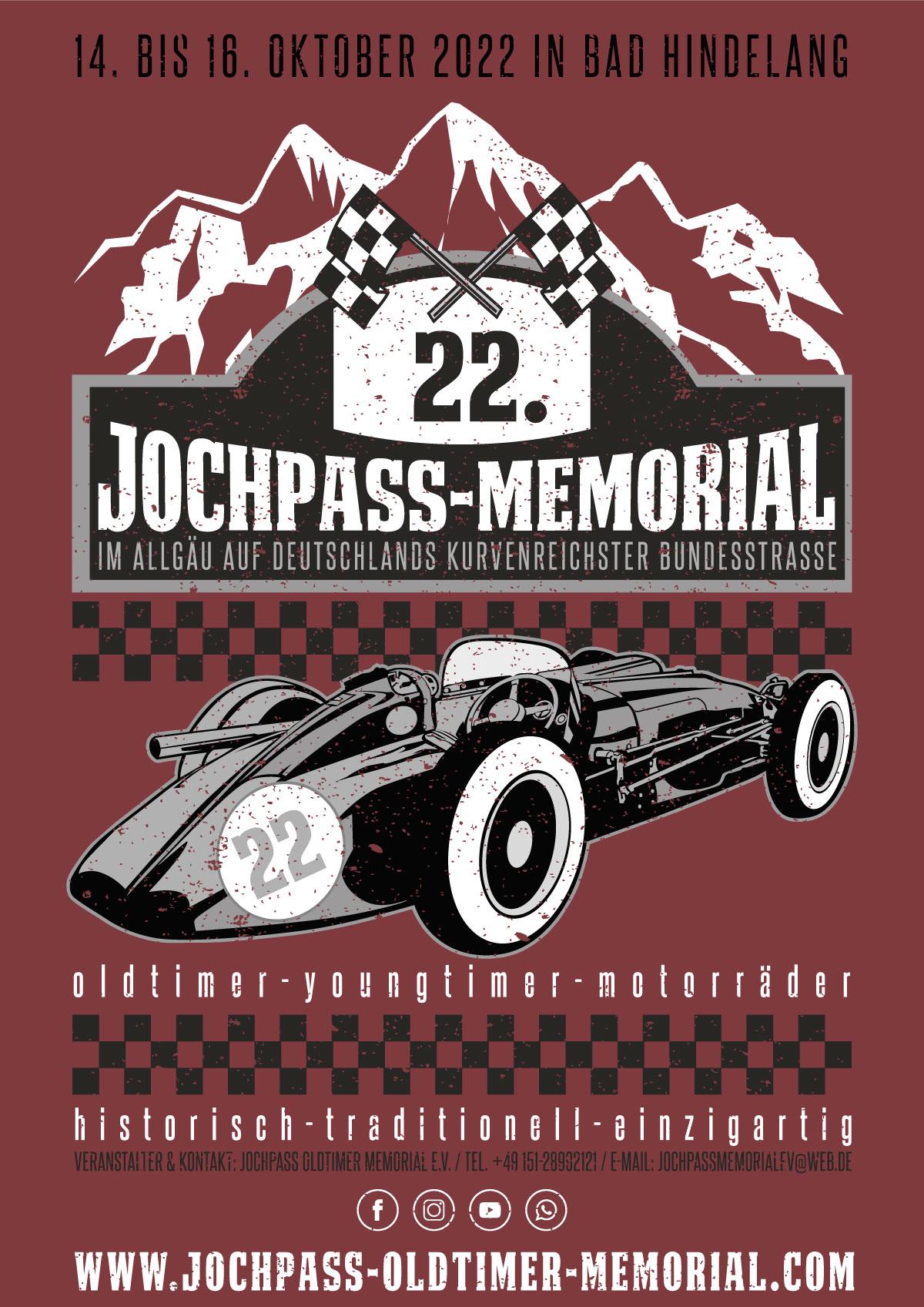 Jochpass Oldtimer Memorial 2022